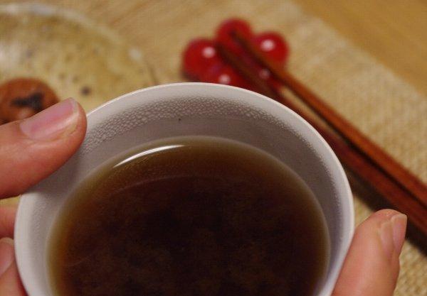 胃腸の疲労回復に「梅醤番茶」